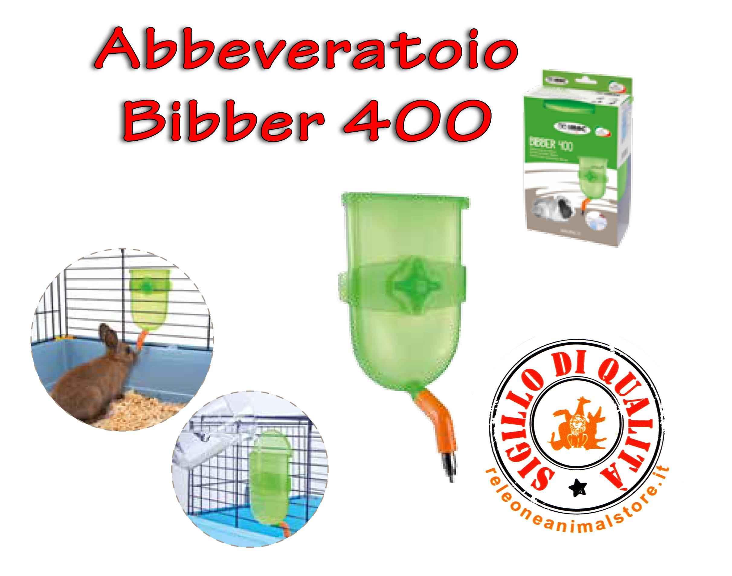 Abbeveratoio Bibber 400 Imac per ogni tipo di Gabbia Universale