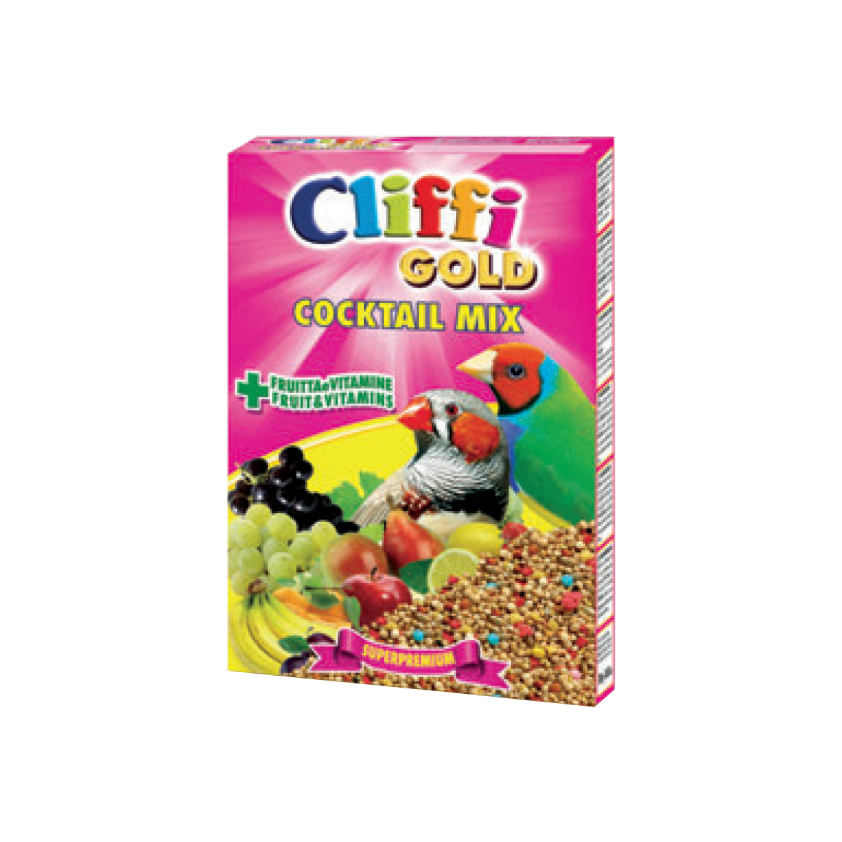 Cliffi Cocktail Mix per Esotici Alimento Completo 300 gr