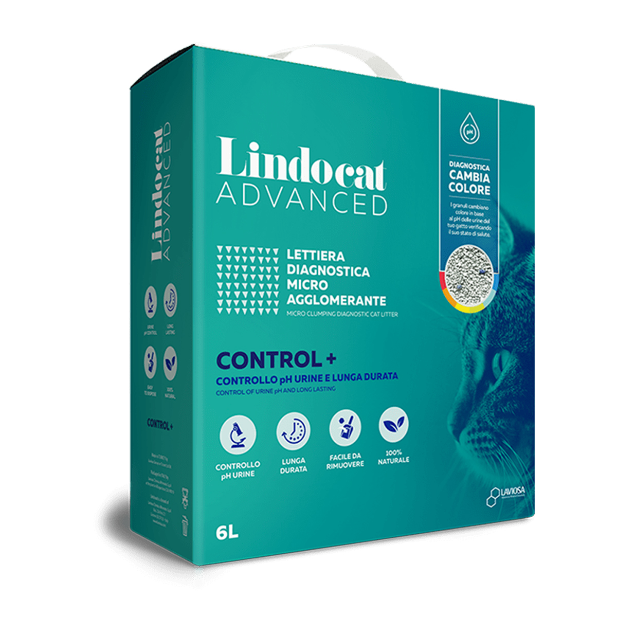 Lindocat Advanced Control Plus 6 Litri - Controllo del pH