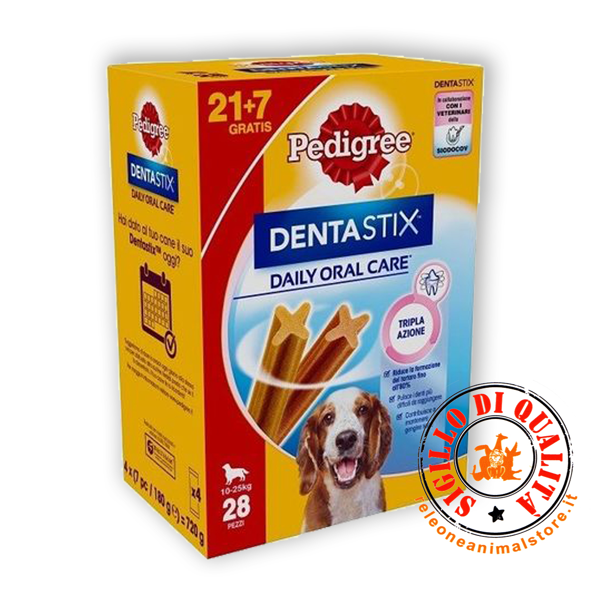 Pedigree Dentastix Snack per cane igiene orale - Medium 10 - 25 Kg