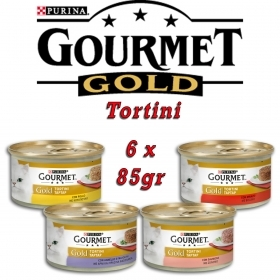 Gourmet Gold Tortini 85gr 6 co
