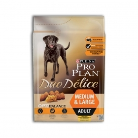 Purina Pro Plan Duo Delice OptiBalance Medium e Large Adult Pollo 2,5 Kg