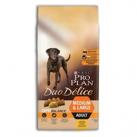 Purina Pro Plan Duo Delice OptiBalance Medium e Large Adult Pollo 10 Kg