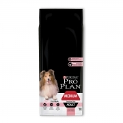 Purina ProPlan Medium Adult OptiDerma al Salmone Crocchette per Cani 14 kg