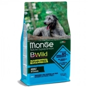 Monge BWild Grain Free Acciughe con Patate e Piselli All Breeds Adult 12 Kg
